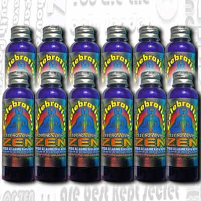 2oz CelebrationZen Shot - Tropical - 12 Bottles