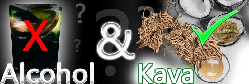 Kava vs alcohol - which is the better solution - pros and cons?